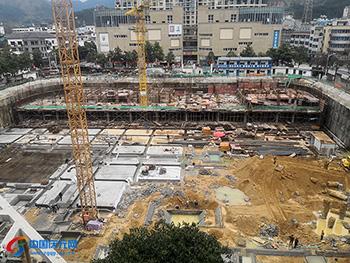 棚户区改造一期(菇城公寓)项目加速推进