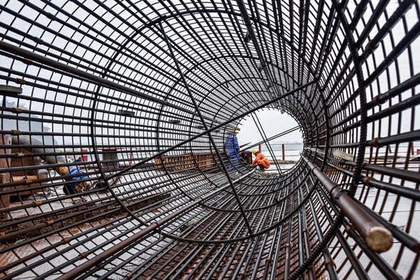 漩门湾大桥及接线工程建设蹄疾步稳 主桥桩基预计4月初完工