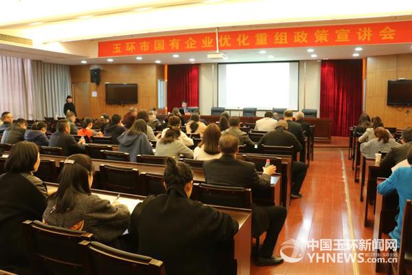 市国投集团组织召开全市国有优化重组政策宣讲会
