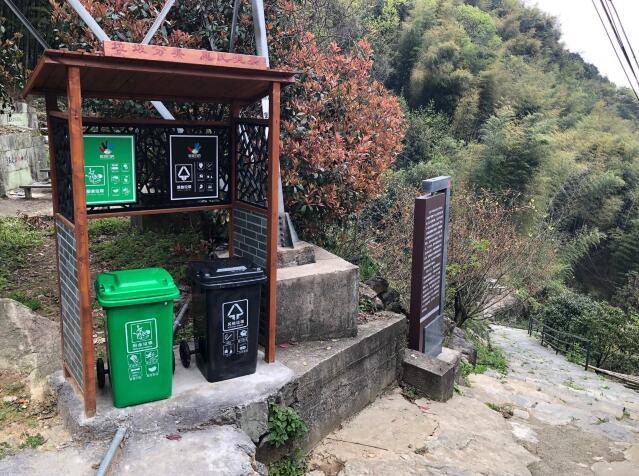 宁波海曙推行垃圾分类:小小分类桶 村庄变干净