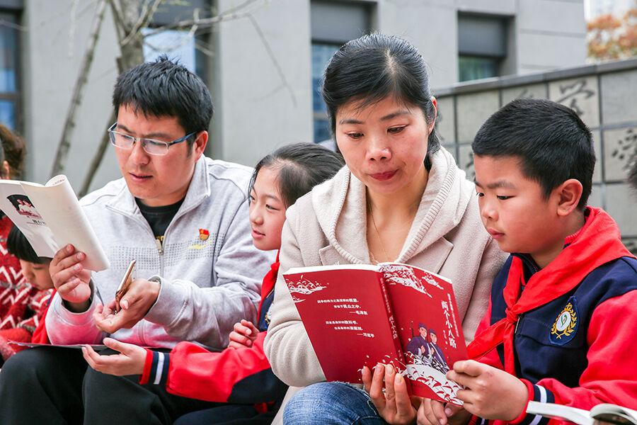 红书飘香祭英烈