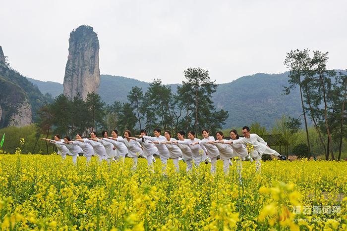 带着瑜伽去仙都旅行