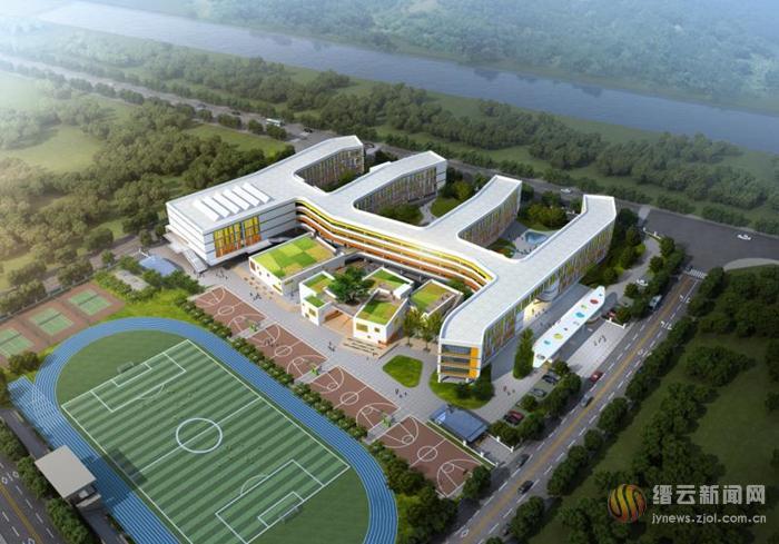 投资1个亿 缙云新区小学即将开工建设