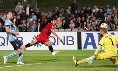 亚冠:上海上港客场3:3逼平悉尼FC