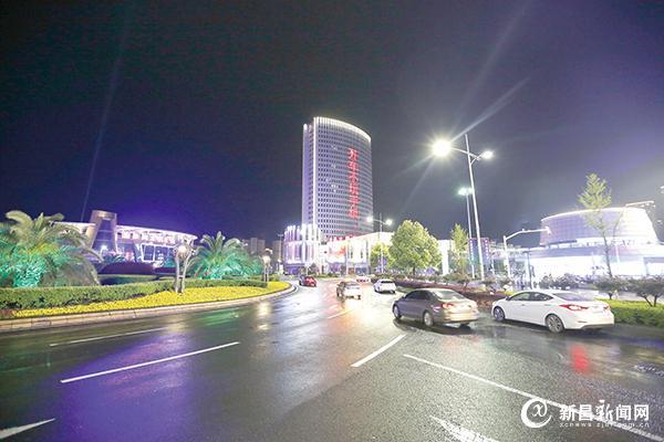 石城夜景新增风景线