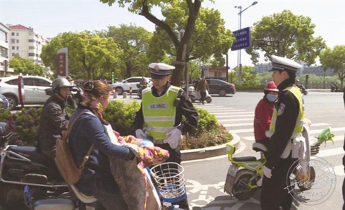 9辆电动自行车昨被依法扣留