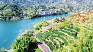 打通青山绿水 挽起景区景点 9条绿道牵动新昌全域旅游