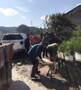 屏都街道:开展八都溪沿路环境整治,助力美丽村庄建设