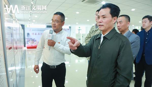 中央文明办来浙调研新时代文明实践中心志愿服务工作