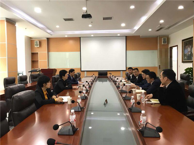 """许晴赴开发区(惠民街道)部分重点企业开展""""三服务""""活动"""
