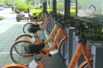 公共自行车乱停乱放 当事人将被禁止使用