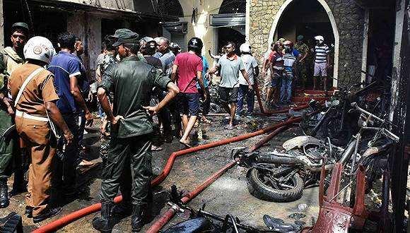 "IS""认领""斯里兰卡恐袭 不排除""冒领""的可能"