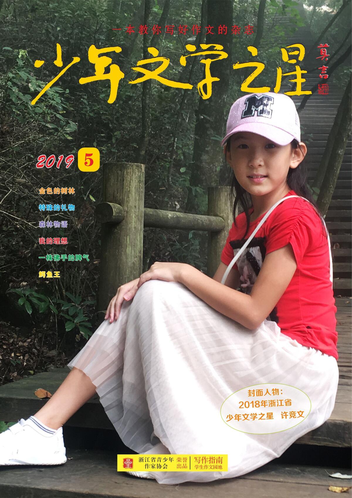 《少年文学之星》2019年5月刊