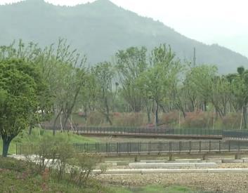 浒溪景观带 今年九月可对外开放
