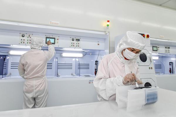 明升:里阳半导体一期芯片制造生产线正式投产