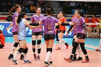 天津女排一局不丢强势晋级亚俱杯决赛