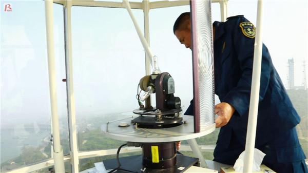 瑞安:灯塔守护者杜忠良 29年为来往船舶护航