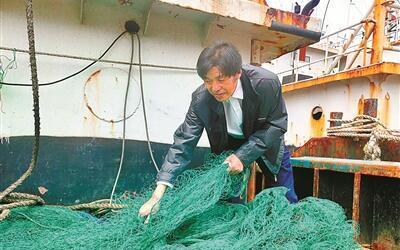 ��最美渔民��周长忠 碧海丹心书大爱