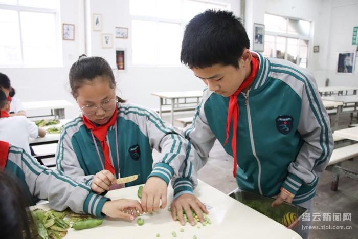 新建小学开展立夏民俗活动