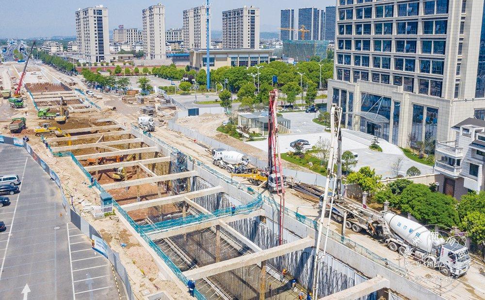 杨港路地下隧道工程有序推进