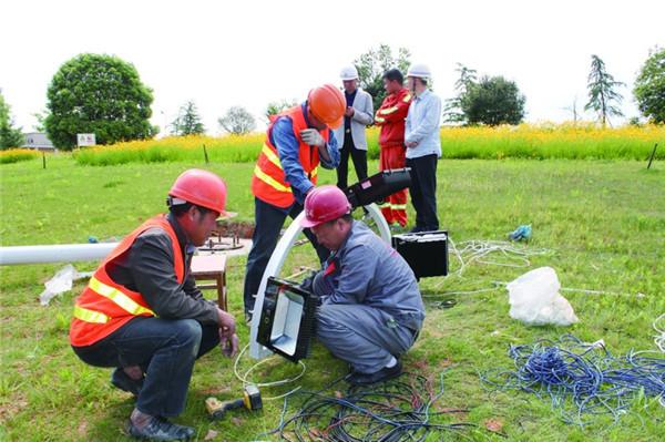 龙游县境内将安装100余盏高亮度LED高杆路灯