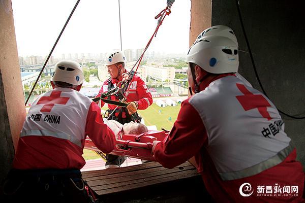 中国红十字会应?#26412;?#25588;综合演练在绍举行