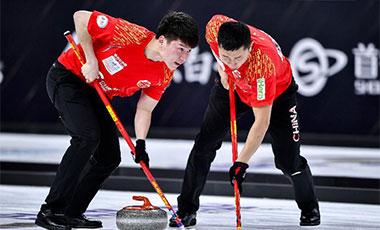 冰壶世界杯总决赛 中国队首日喜忧参半