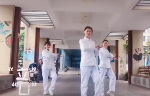 """你會洗手嗎?來和護士""""小姐姐""""一起跳舞學洗手"""