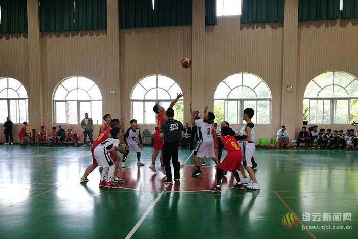 2019年缙云县小学生篮球联赛鸣金收兵