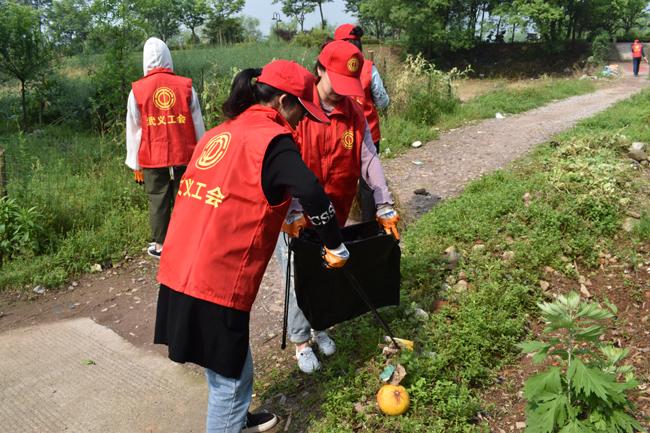 清理垃圾志愿服务