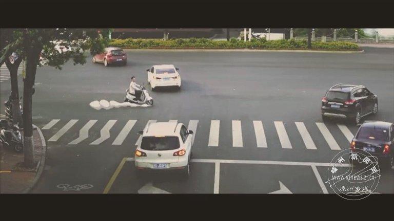 交警拍的这个宣传短片