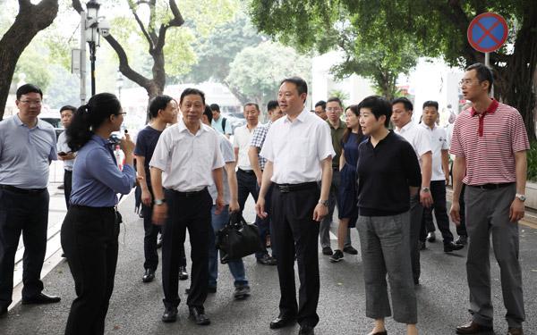 市党政考察团赴广州、东莞考察学习