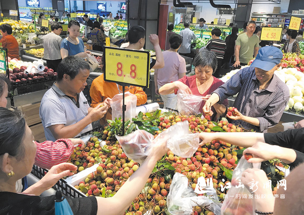时令水果价高好销