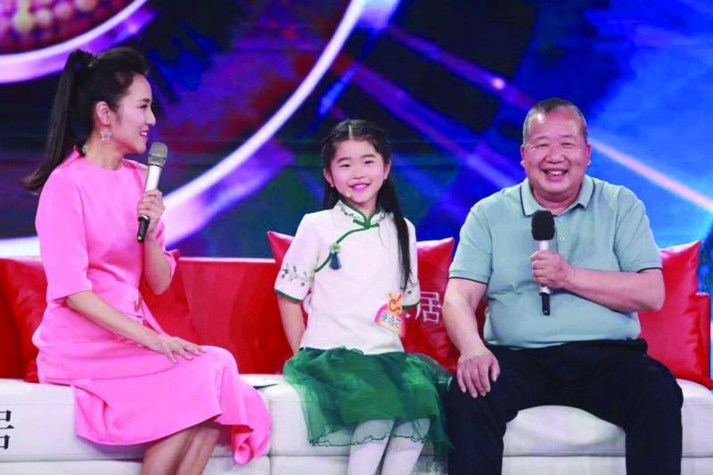 8岁女孩惊艳亮相央视《非常6+1》