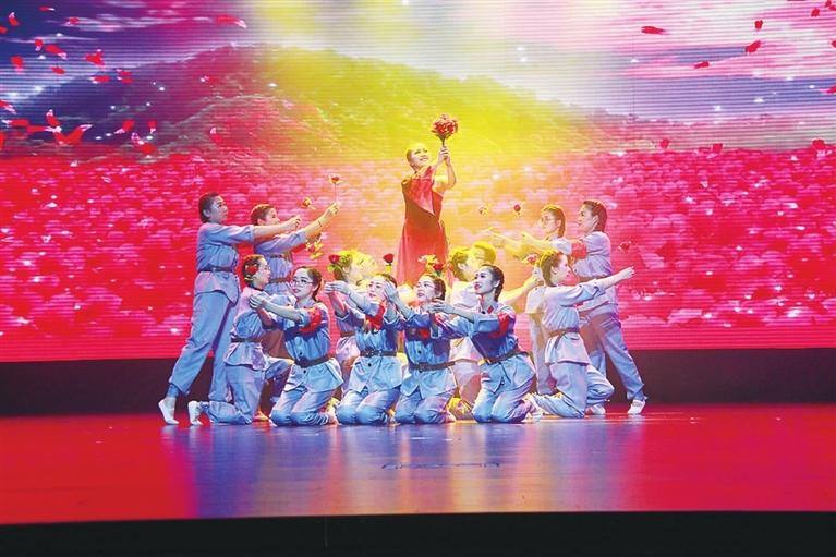 """""""腾讯分分开奖记录,我和我的祖国""""庆祝新中国成立70周年教师文艺汇演举行"""