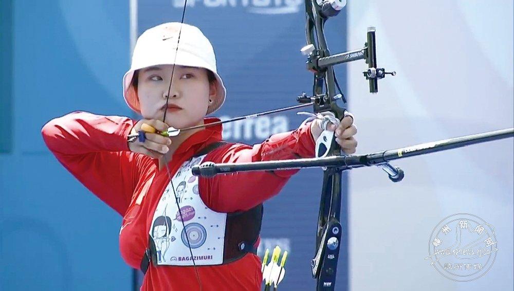 射箭女孩郑怡钗:想在奥运会上拿一块奖牌