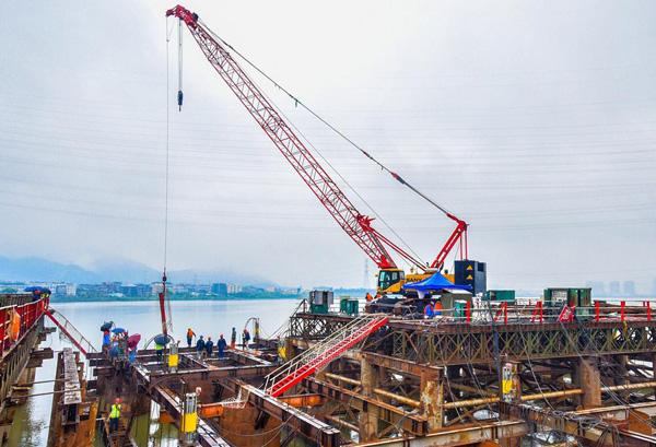 赞!漩门湾大桥及接线项目又迎一节点工程