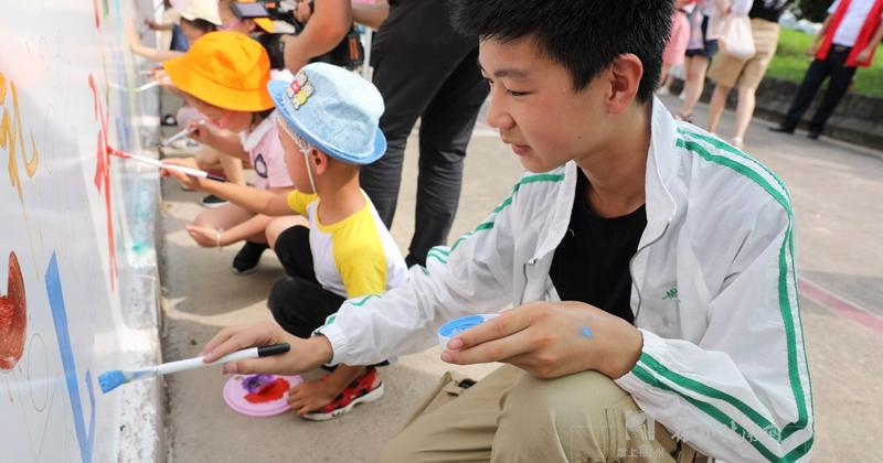 """端午將至,衢州的孩子們涂鴉""""有禮"""""""