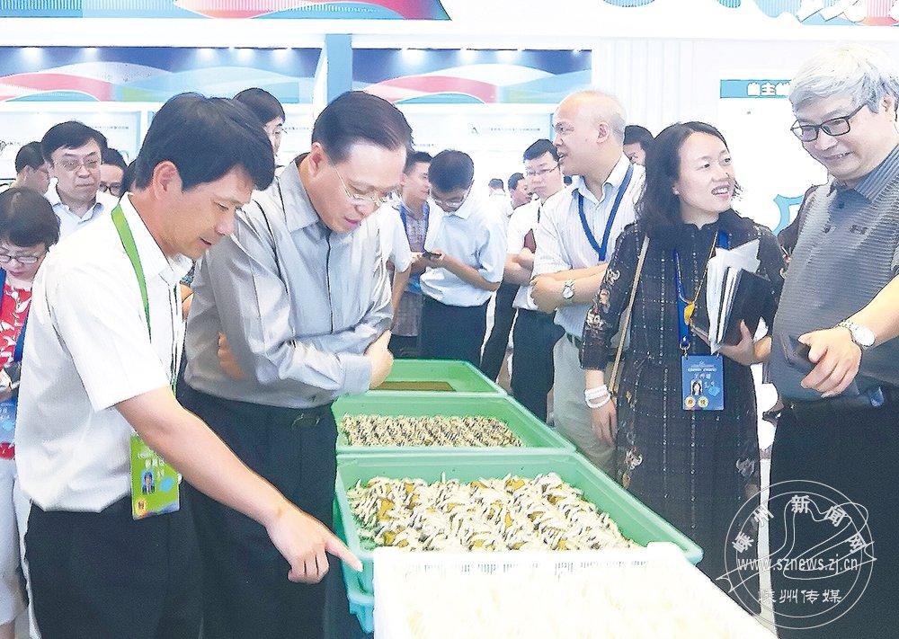 巴贝工厂化养蚕项目亮相全国大众创业万众创新活动周