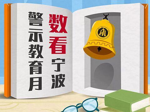 一张长图带你看宁波警示教育月活动