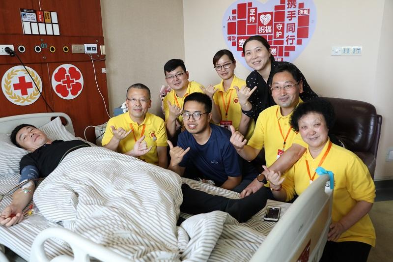 捐献造血干细胞 辅警给予18岁少女一份生命礼物