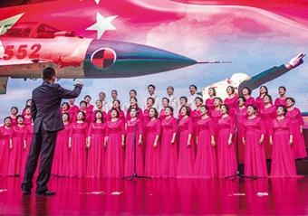 唱首红歌赞祖国