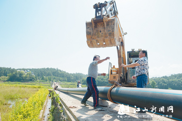 供水管网铺设快推进