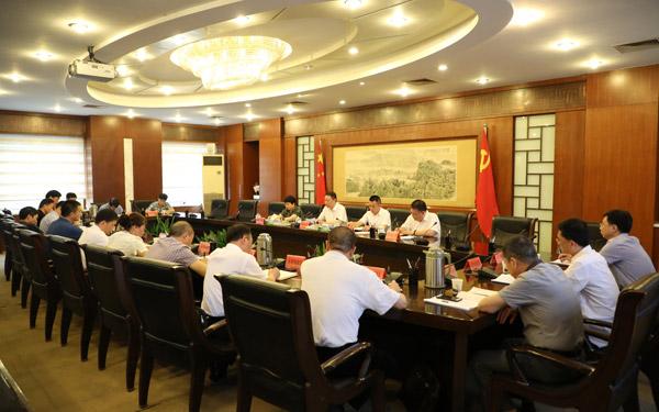 市委召开统一战线工作领导小组会议