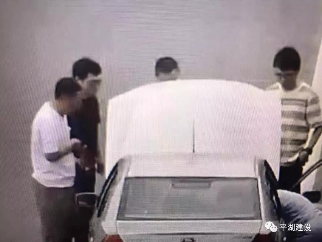 全網搜尋這輛浙F車,3個平湖人在高速上這一幕被拍下