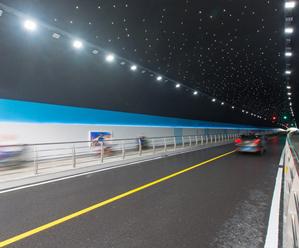 高亭磨盘山隧道正式通车