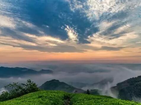 【休闲旅游】在这里,可以看云海、日出