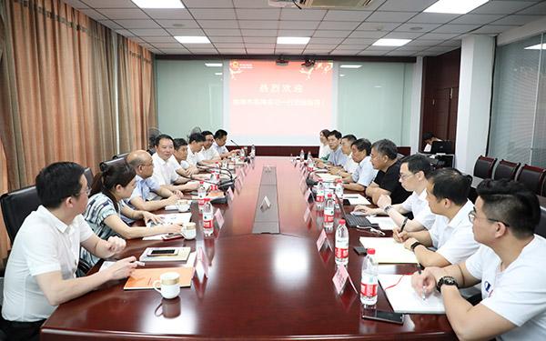 梅式苗率队赴无锡上海对接招商项目