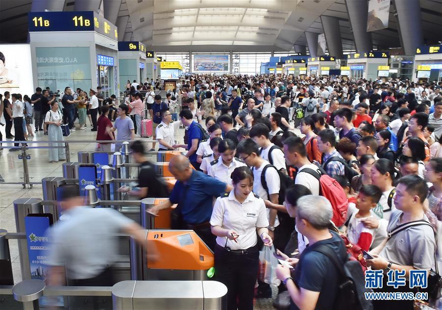 全国铁路7月10日起实施新的列车运行图