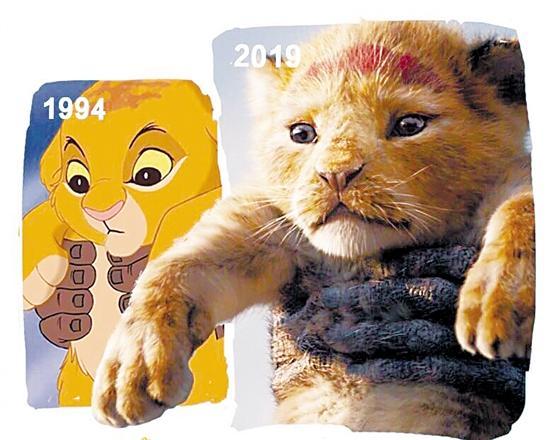 《狮子王》技术的胜利,同样的感动
